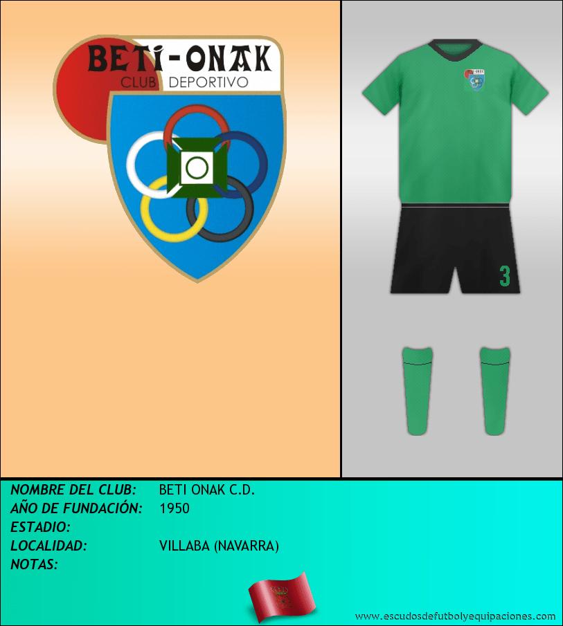 Escudo de BETI ONAK C.D.