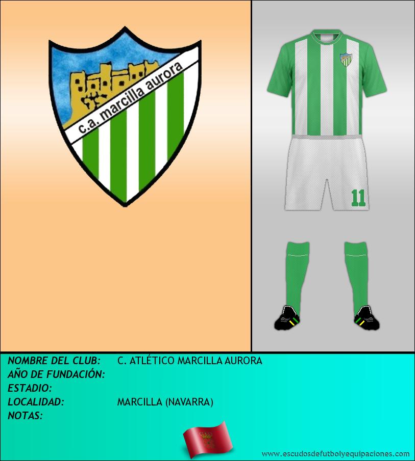 Escudo de C. ATLÉTICO MARCILLA AURORA