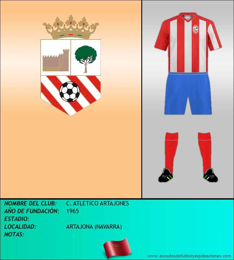 Escudo de C. ATLETICO ARTAJONES