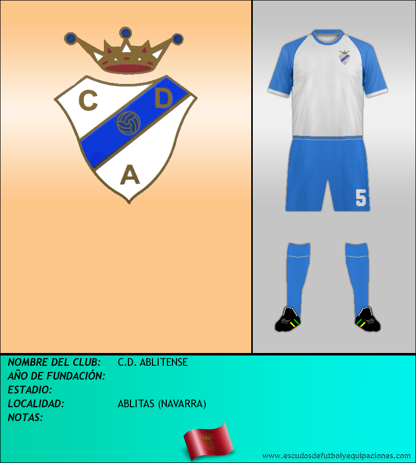 Escudo de C.D. ABLITENSE