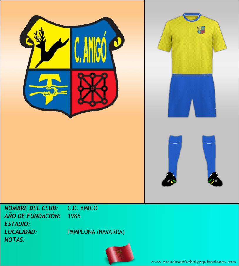 Escudo de C.D. AMIGÓ