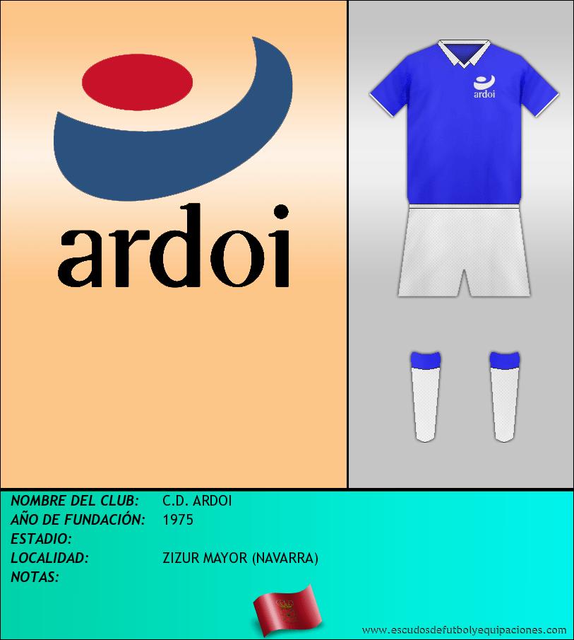 Escudo de C.D. ARDOI