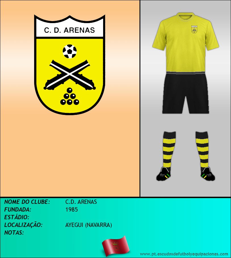Escudo de C.D. ARENAS