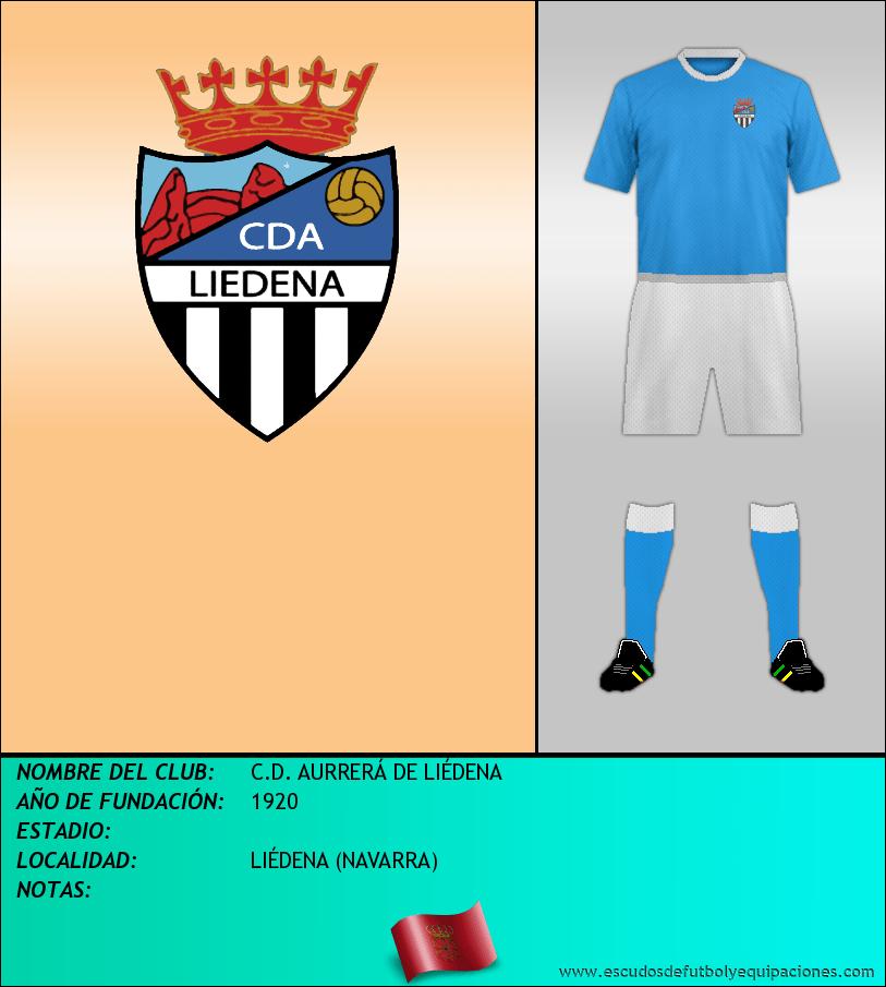 Escudo de C.D. AURRERÁ DE LIÉDENA