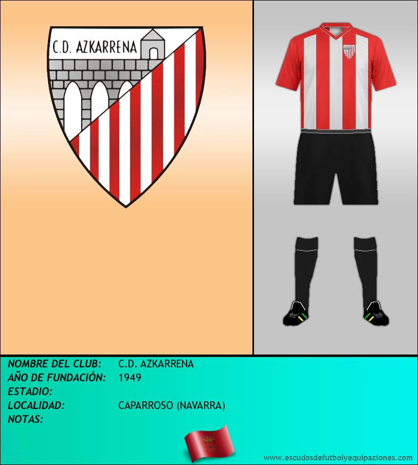 Escudo de C.D. AZKARRENA