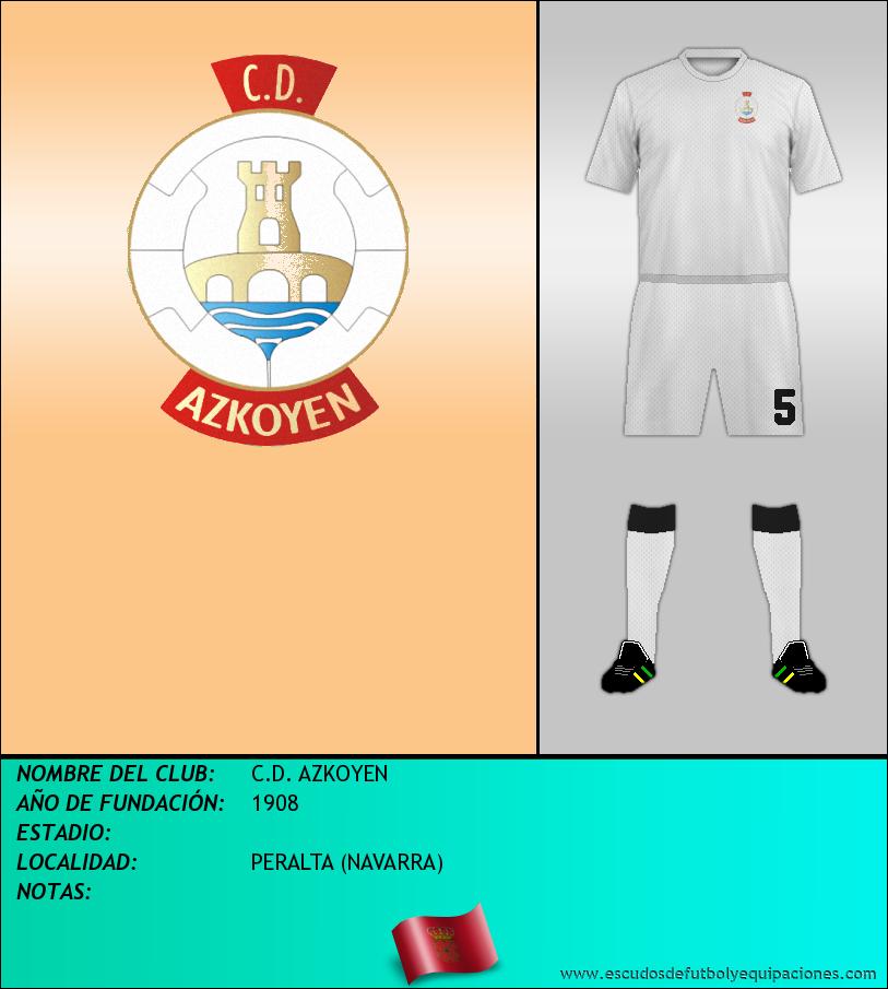 Escudo de C.D. AZKOYEN