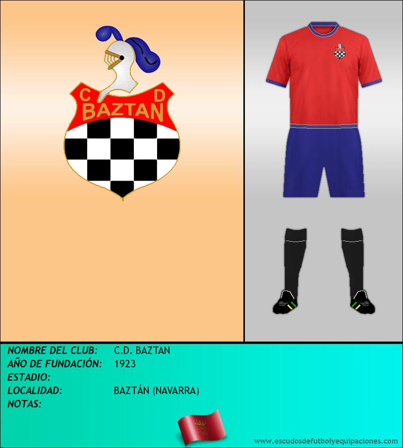 Escudo de C.D. BAZTAN
