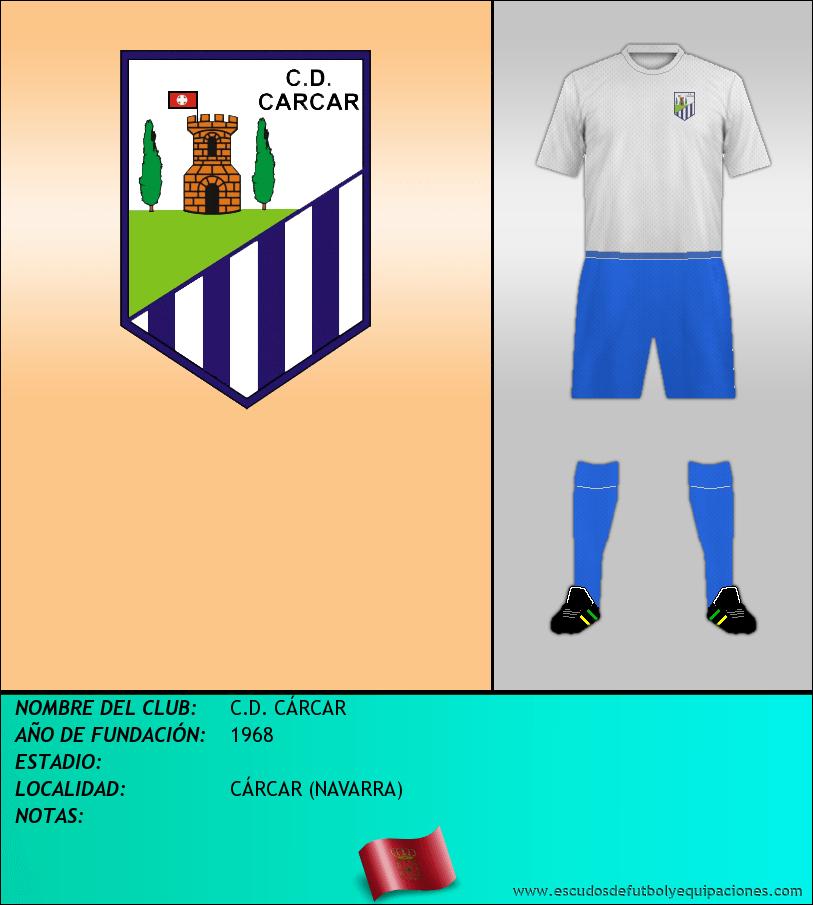 Escudo de C.D. CÁRCAR