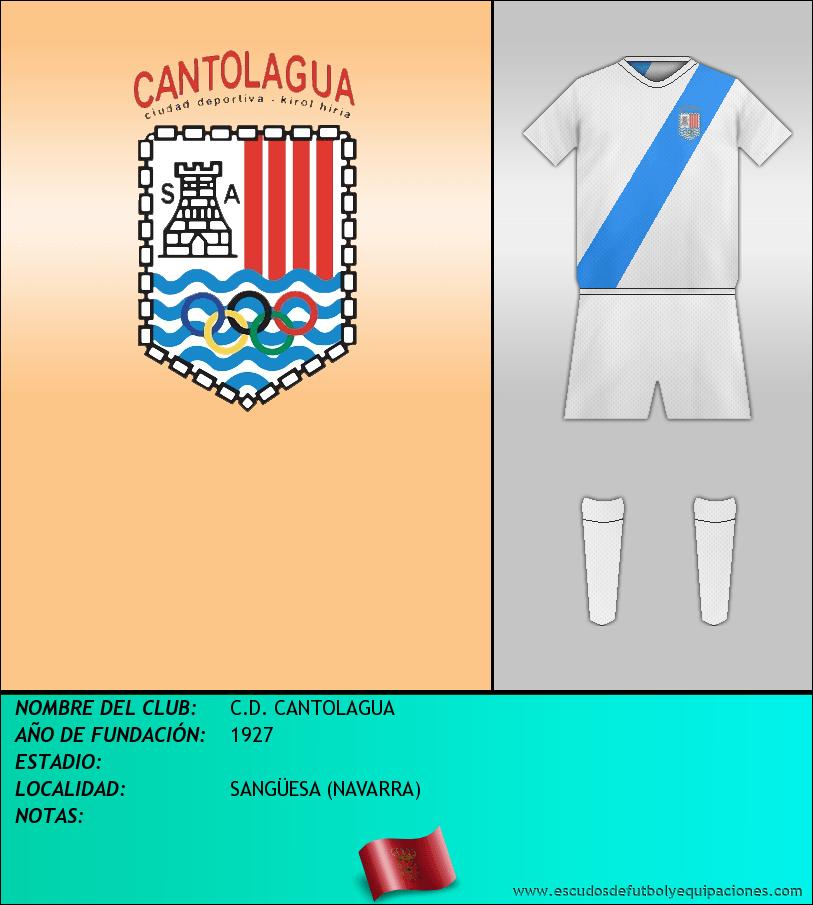 Escudo de C.D. CANTOLAGUA