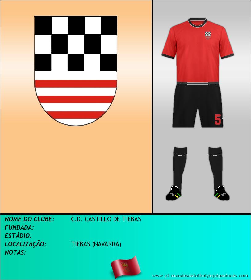 Escudo de C.D. CASTILLO DE TIEBAS