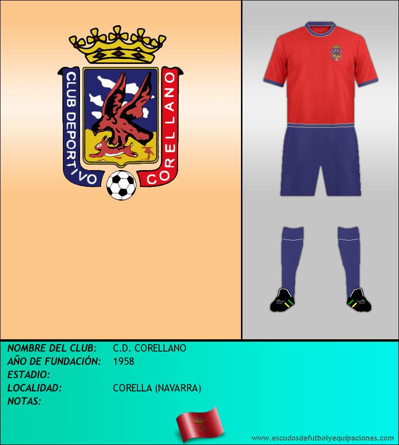 Escudo de C.D. CORELLANO