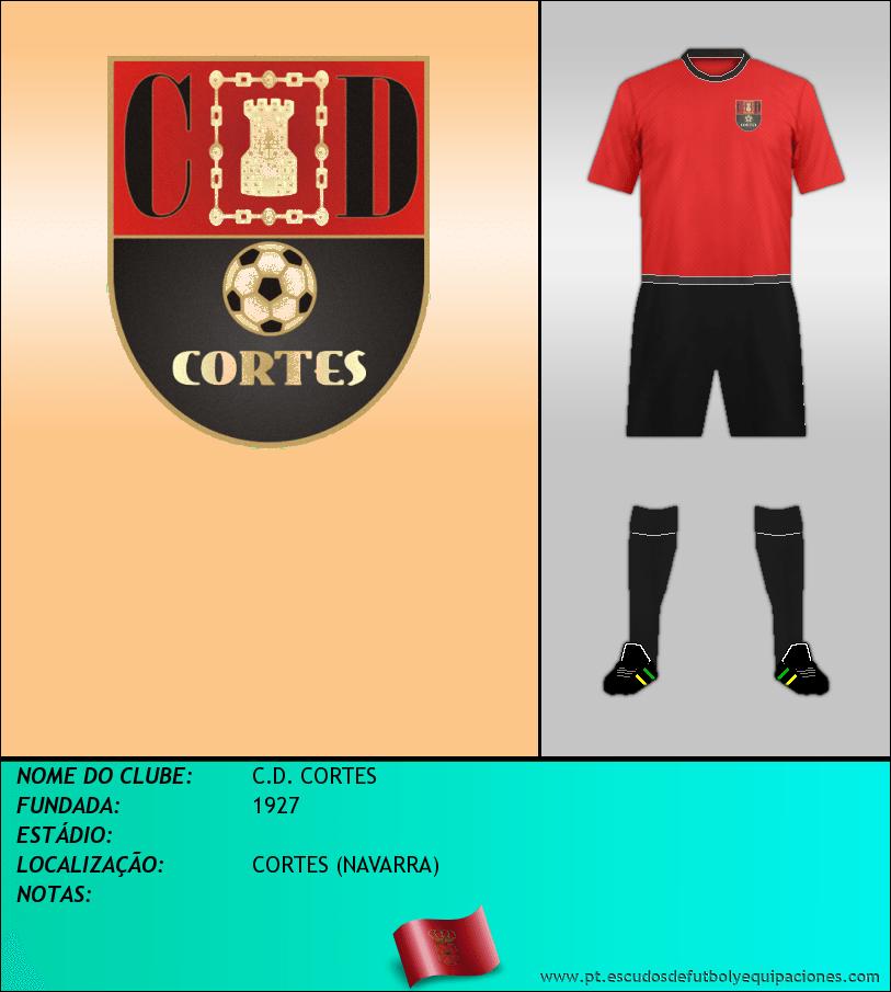 Escudo de C.D. CORTES