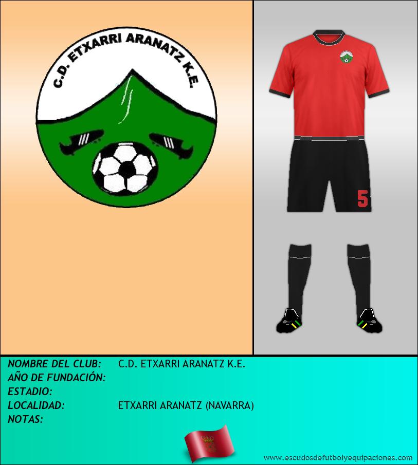 Escudo de C.D. ETXARRI ARANATZ K.E.