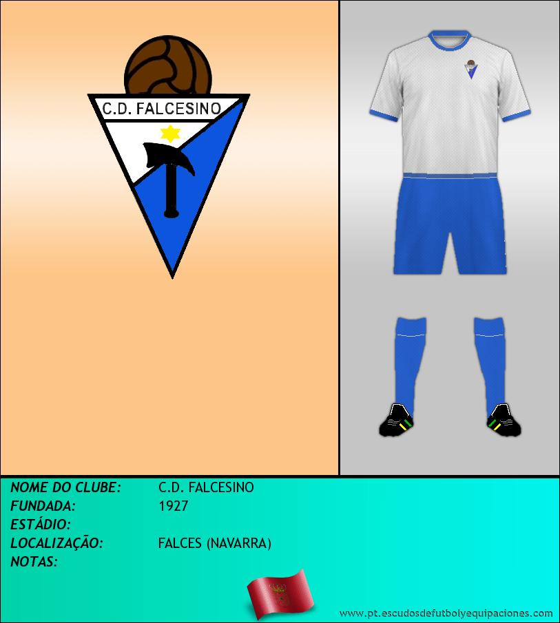 Escudo de C.D. FALCESINO