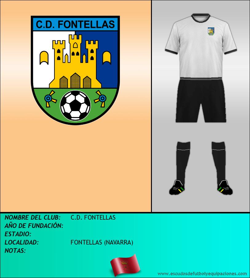 Escudo de C.D. FONTELLAS
