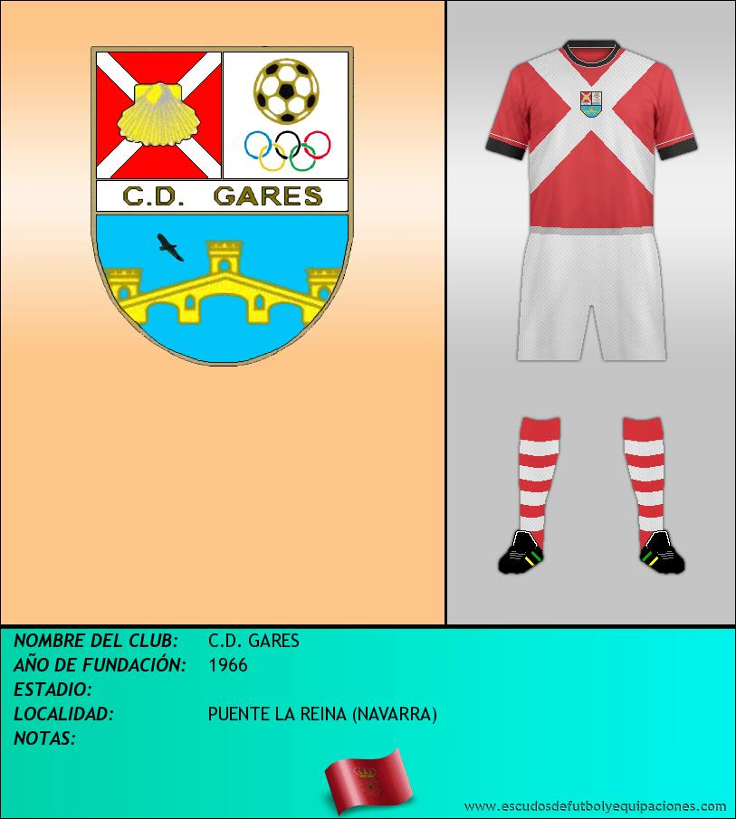Escudo de C.D. GARES