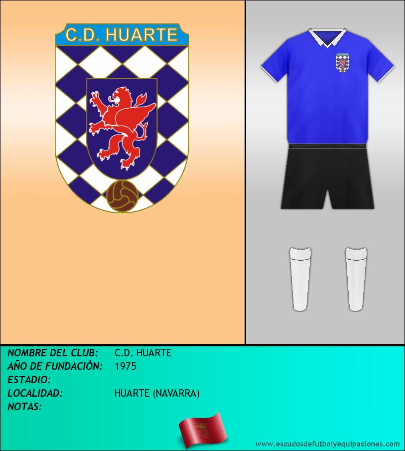 Escudo de C.D. HUARTE