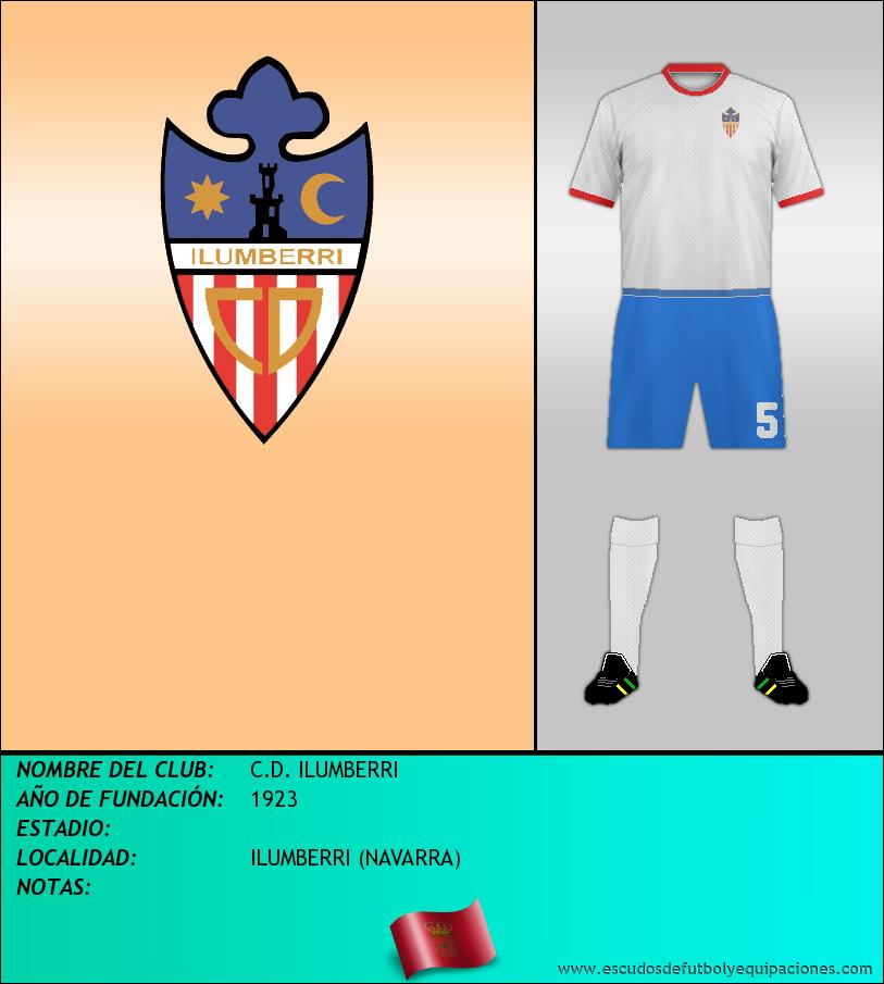 Escudo de C.D. ILUMBERRI