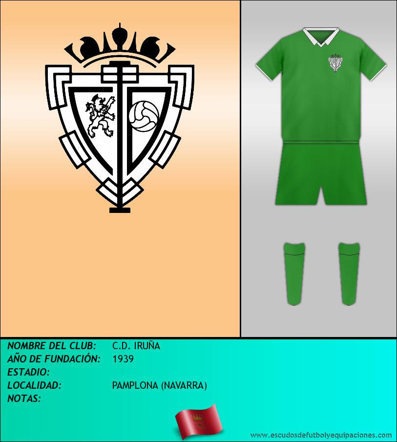 Escudo de C.D. IRUÑA