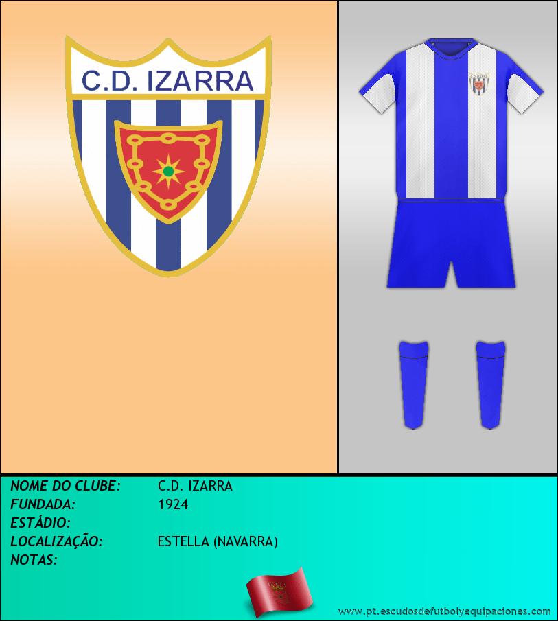 Escudo de C.D. IZARRA