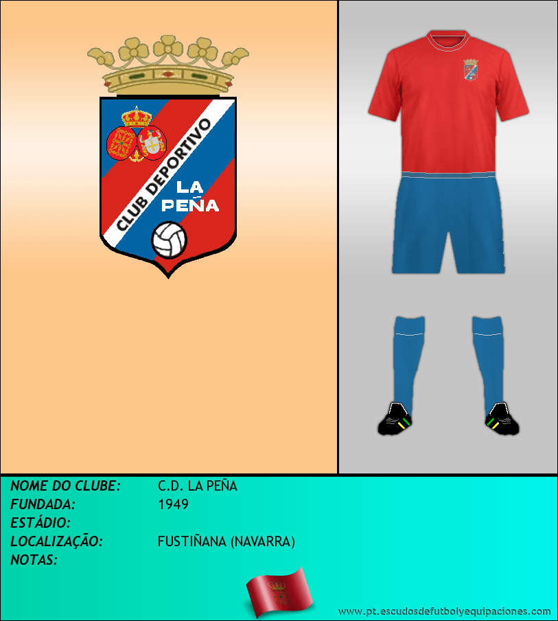 Escudo de C.D. LA PEÑA