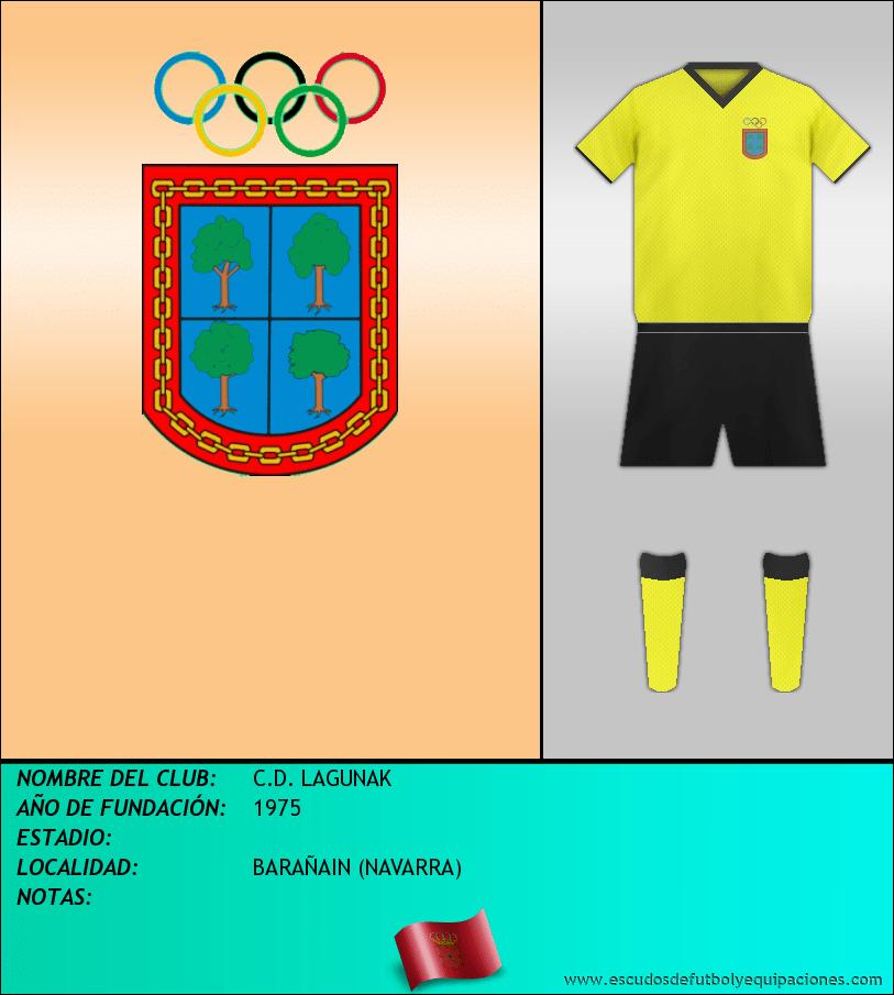 Escudo de C.D. LAGUNAK