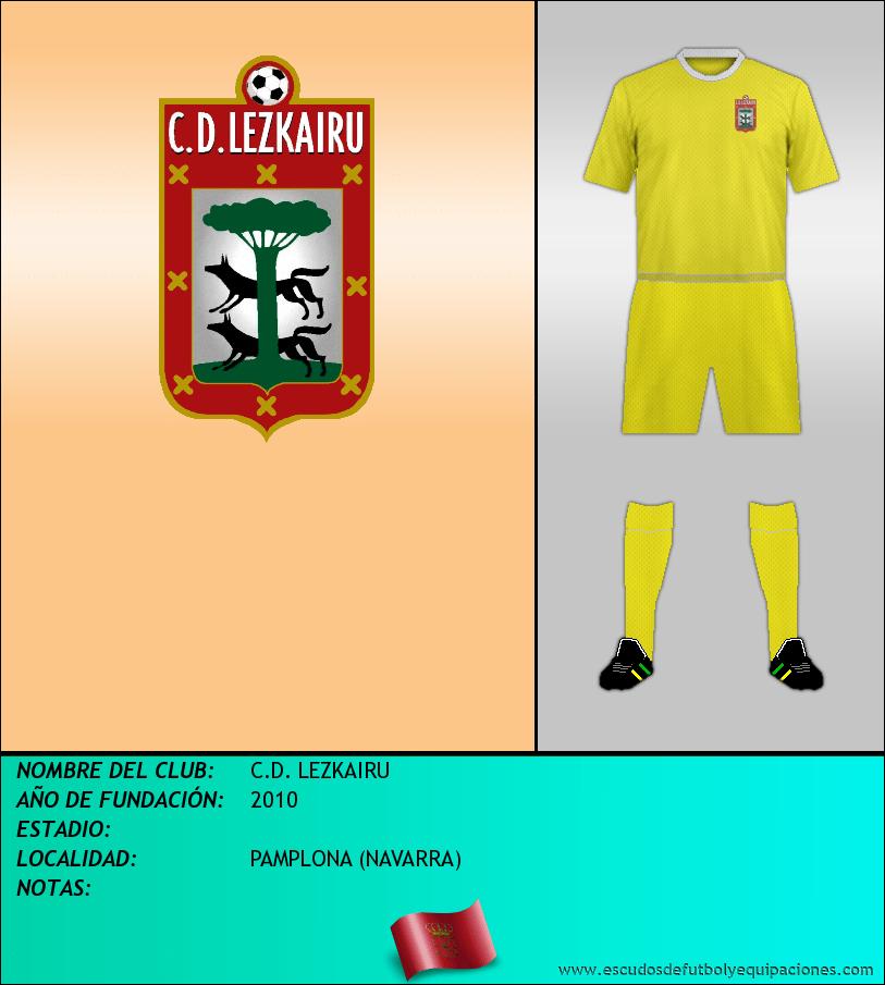 Escudo de C.D. LEZKAIRU