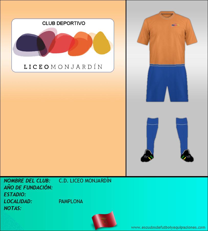 Escudo de C.D. LICEO MONJARDÍN