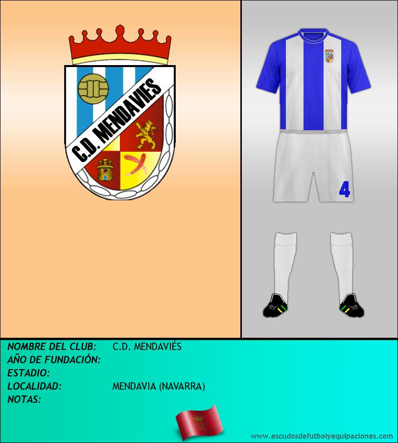 Escudo de C.D. MENDAVIÉS