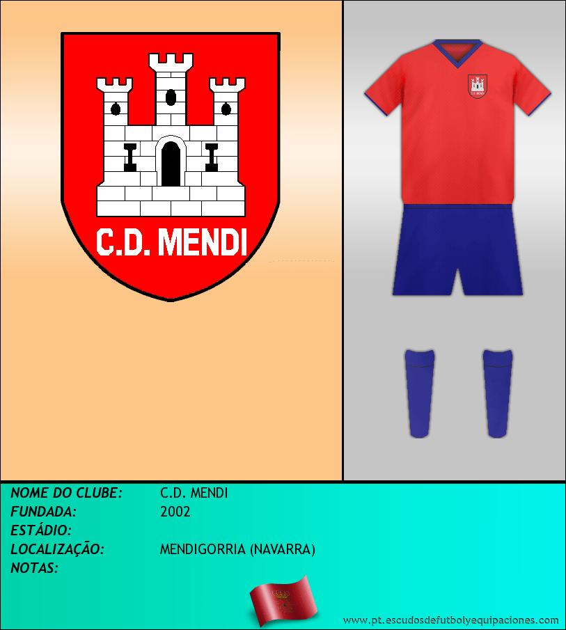 Escudo de C.D. MENDI