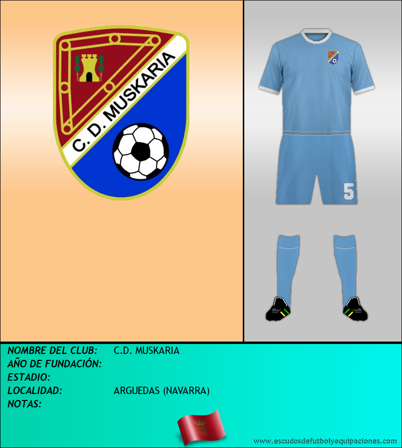 Escudo de C.D. MUSKARIA