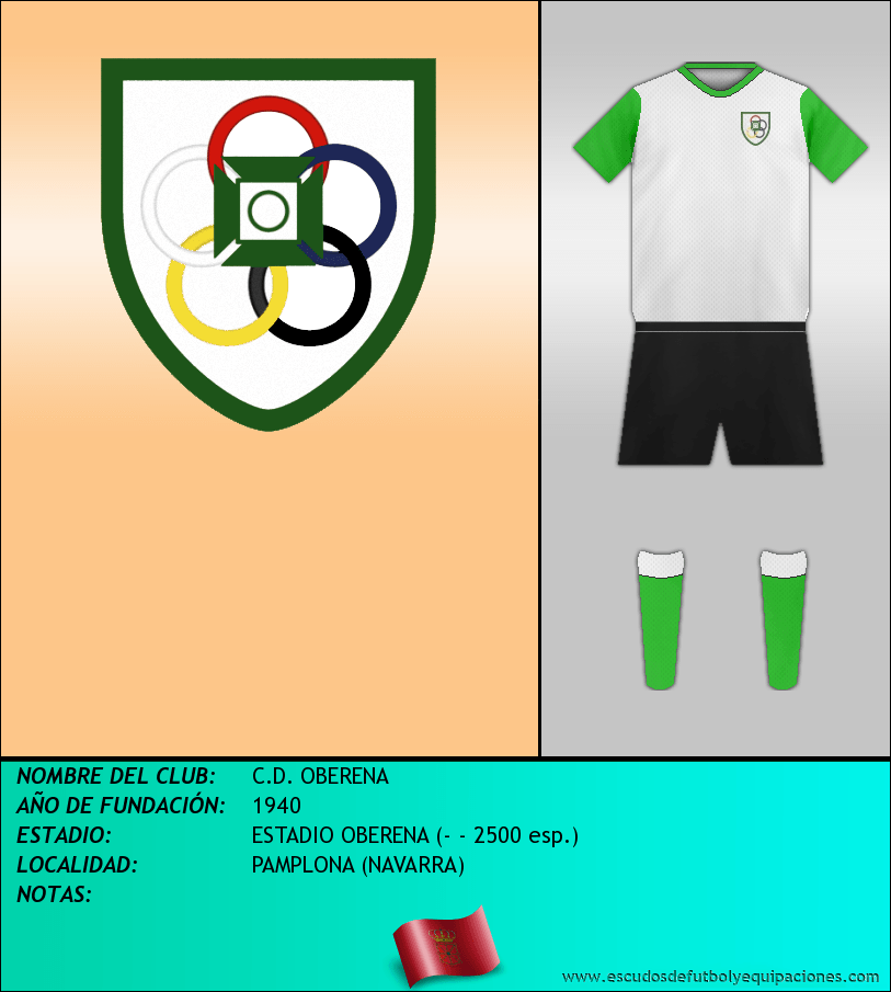 Escudo de C.D. OBERENA