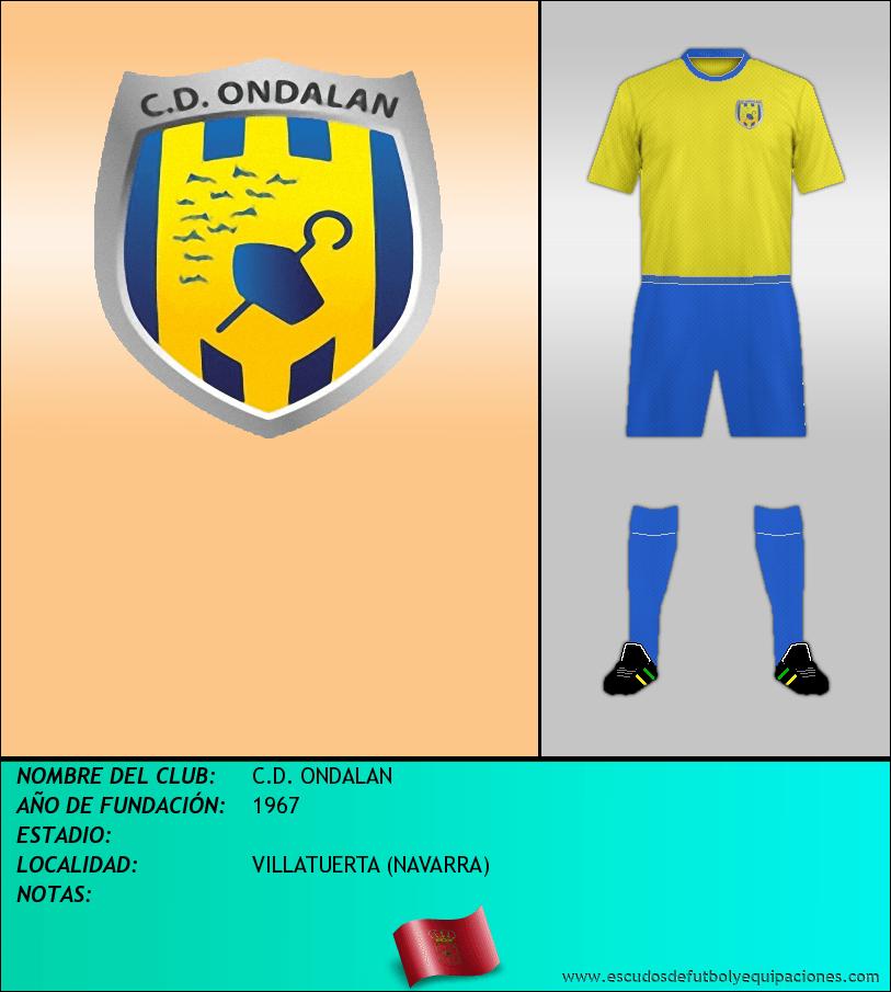 Escudo de C.D. ONDALAN