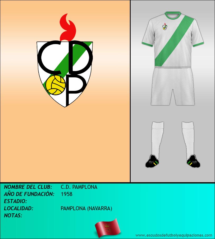 Escudo de C.D. PAMPLONA