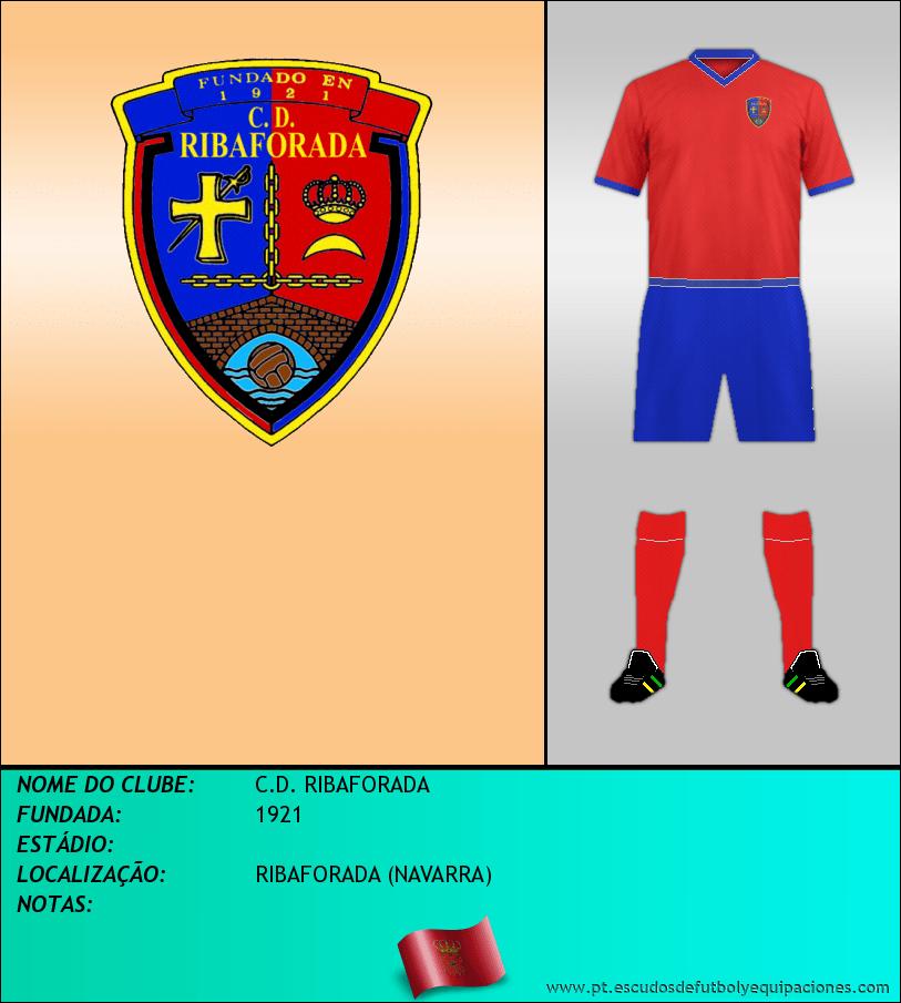Escudo de C.D. RIBAFORADA