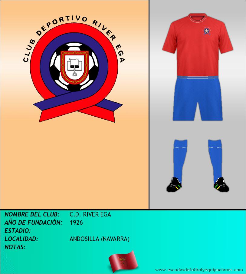 Escudo de C.D. RIVER EGA