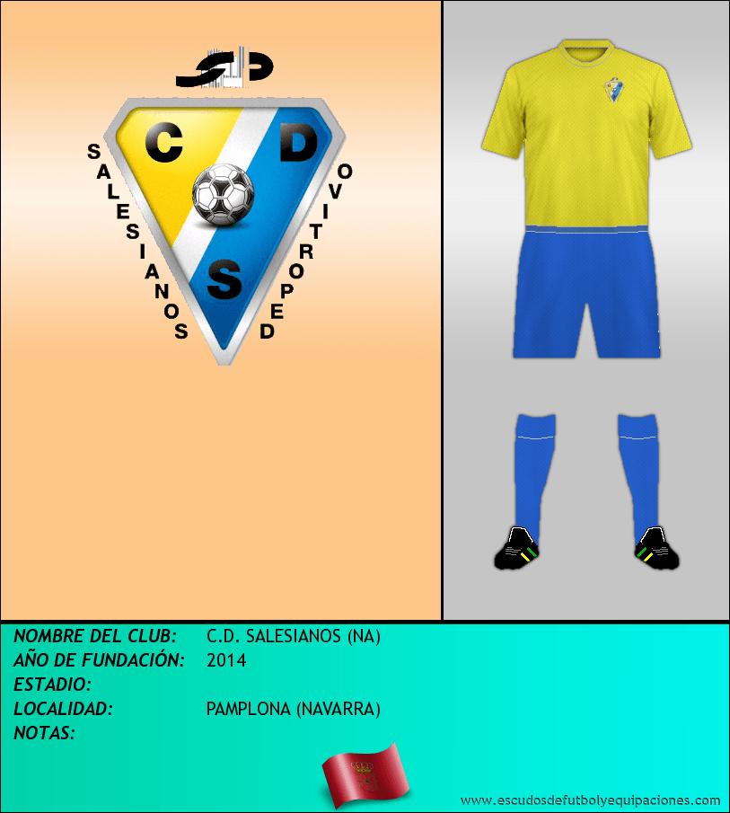 Escudo de C.D. SALESIANOS (NA)