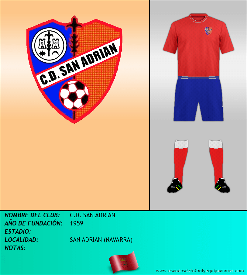 Escudo de C.D. SAN ADRIAN