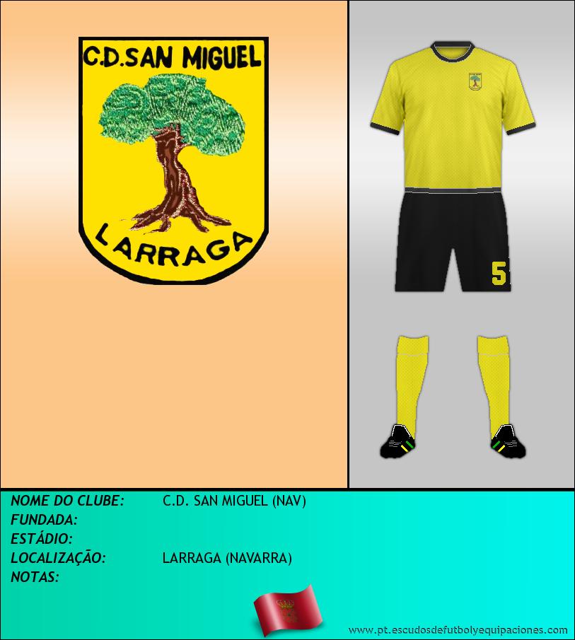 Escudo de C.D. SAN MIGUEL (NAV)