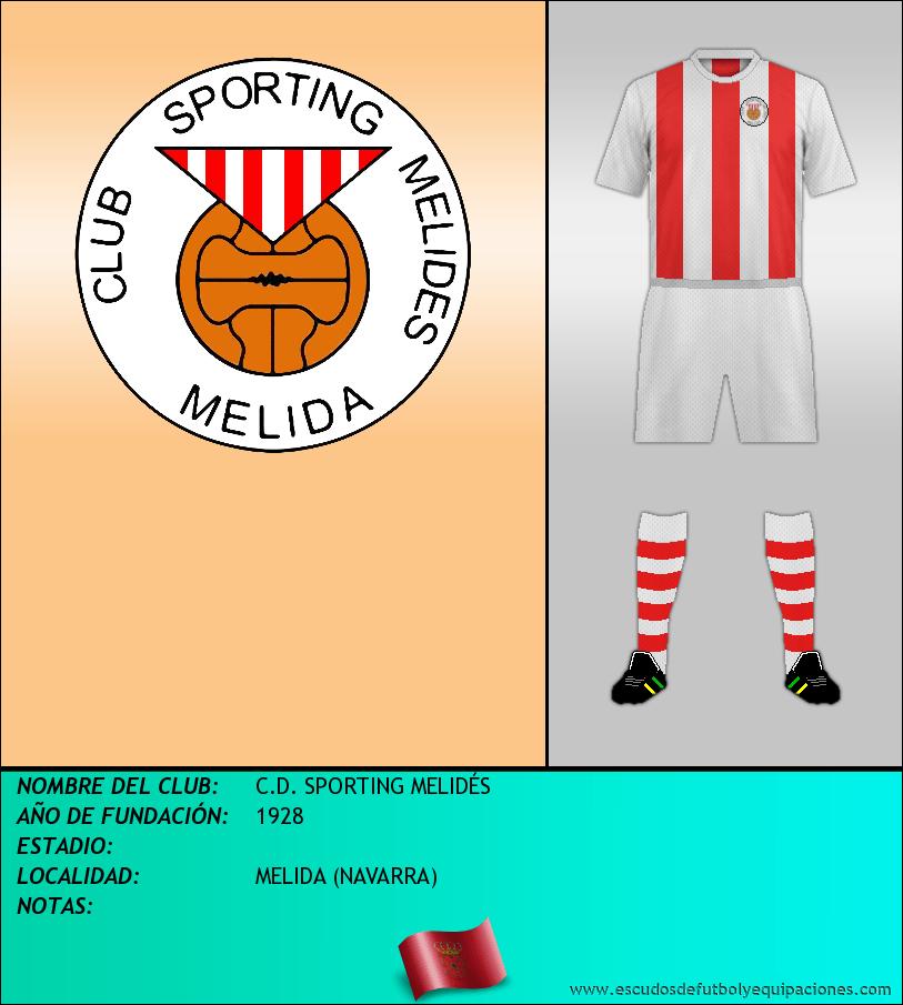 Escudo de C.D. SPORTING MELIDÉS