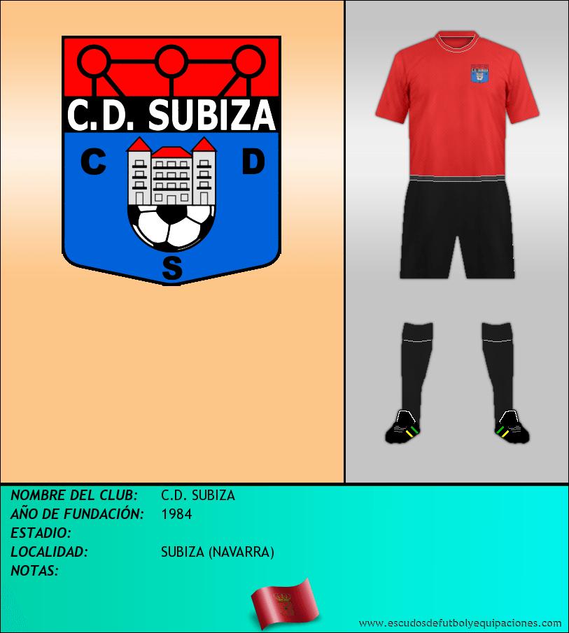 Escudo de C.D. SUBIZA