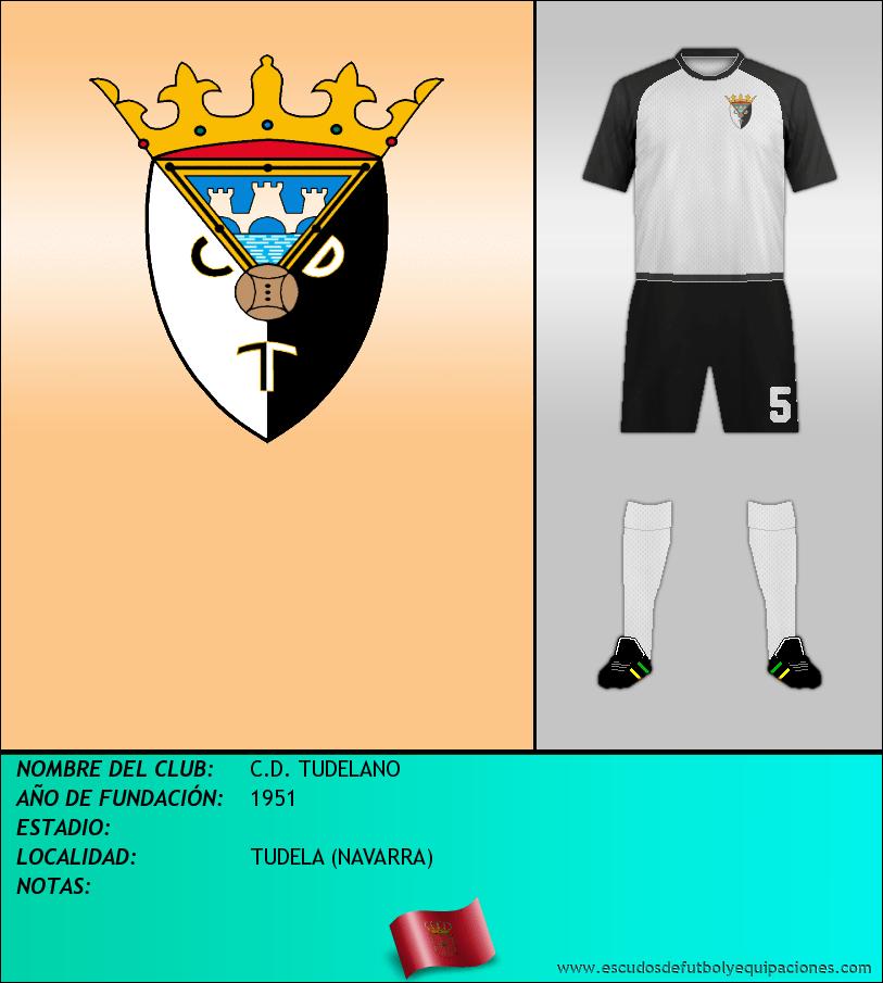 Escudo de C.D. TUDELANO