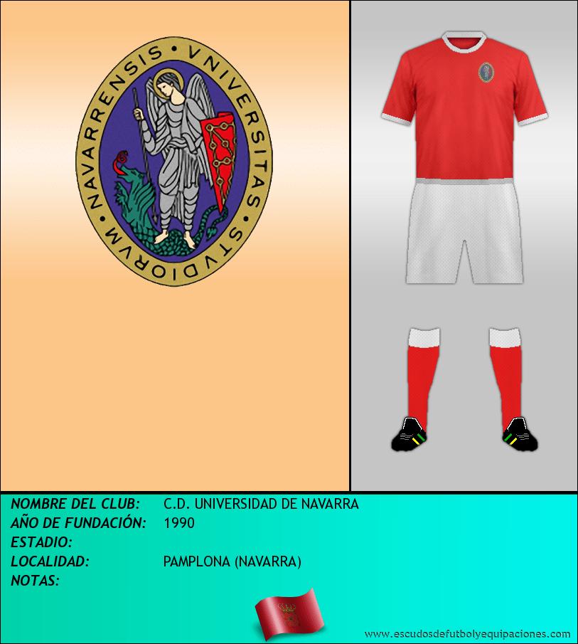Escudo de C.D. UNIVERSIDAD DE NAVARRA