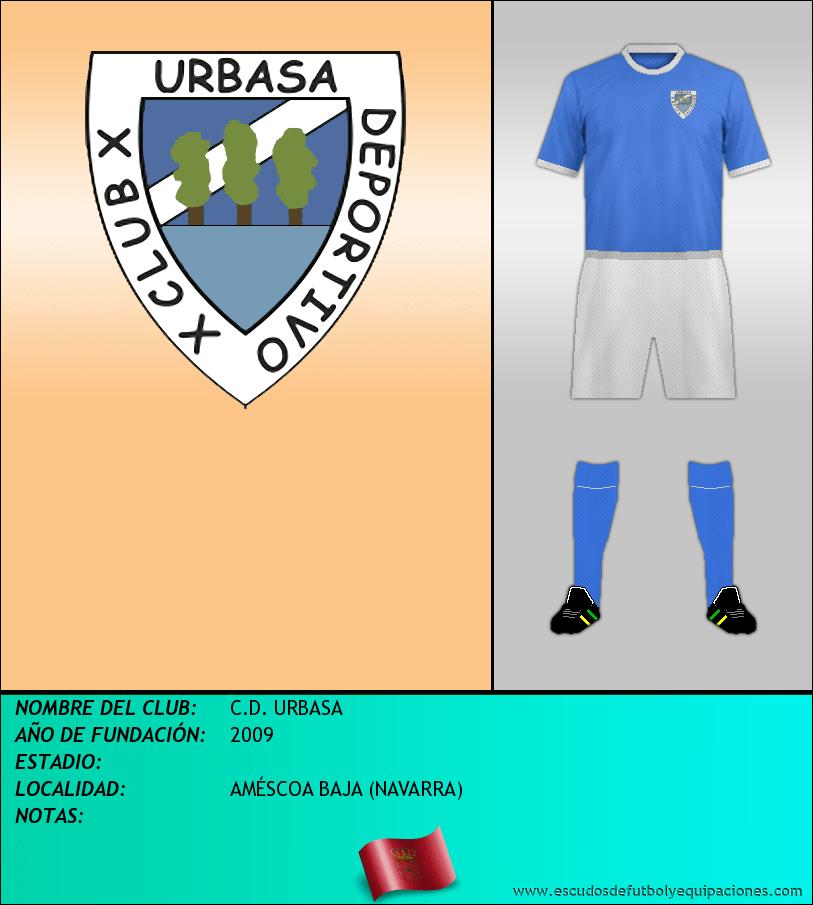 Escudo de C.D. URBASA