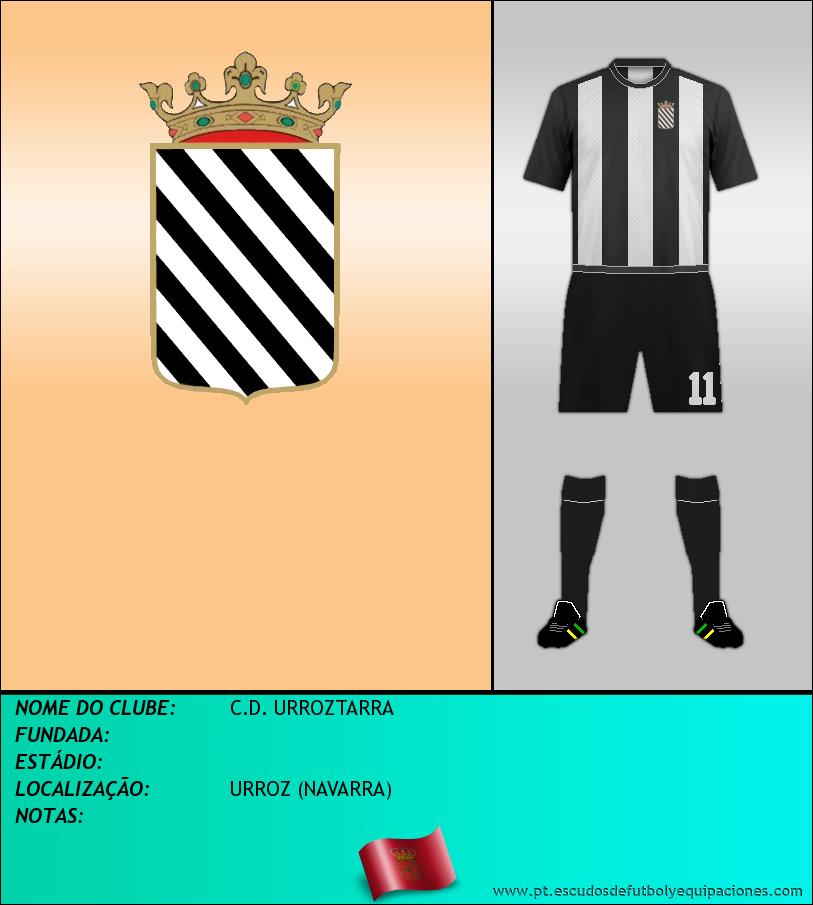Escudo de C.D. URROZTARRA