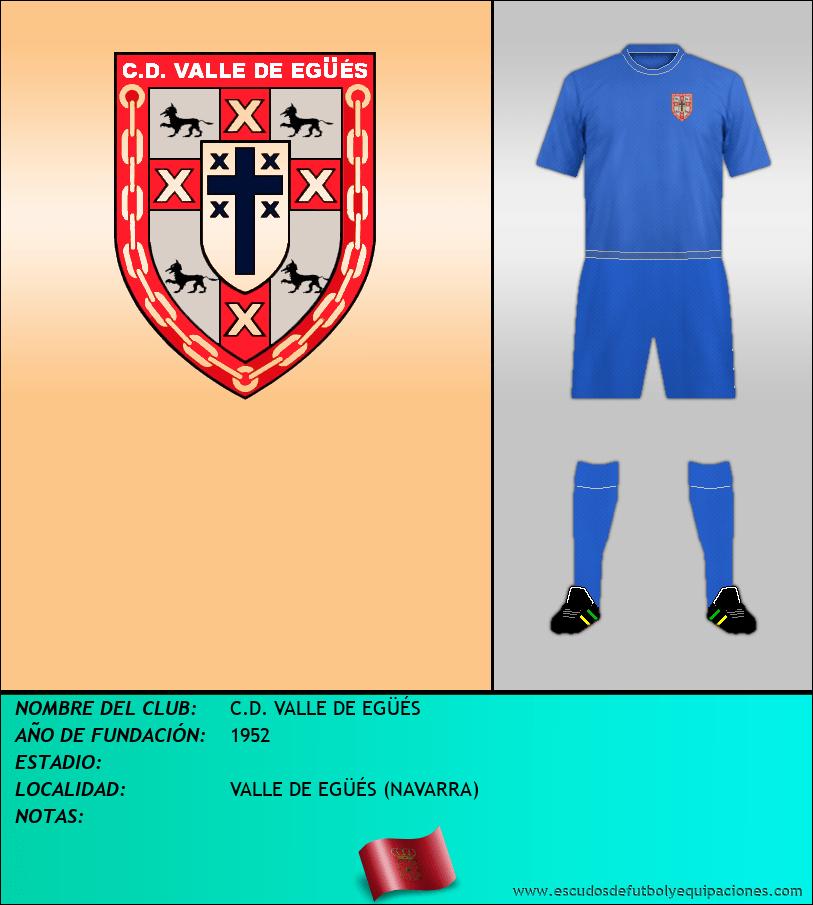 Escudo de C.D. VALLE DE EGÜÉS