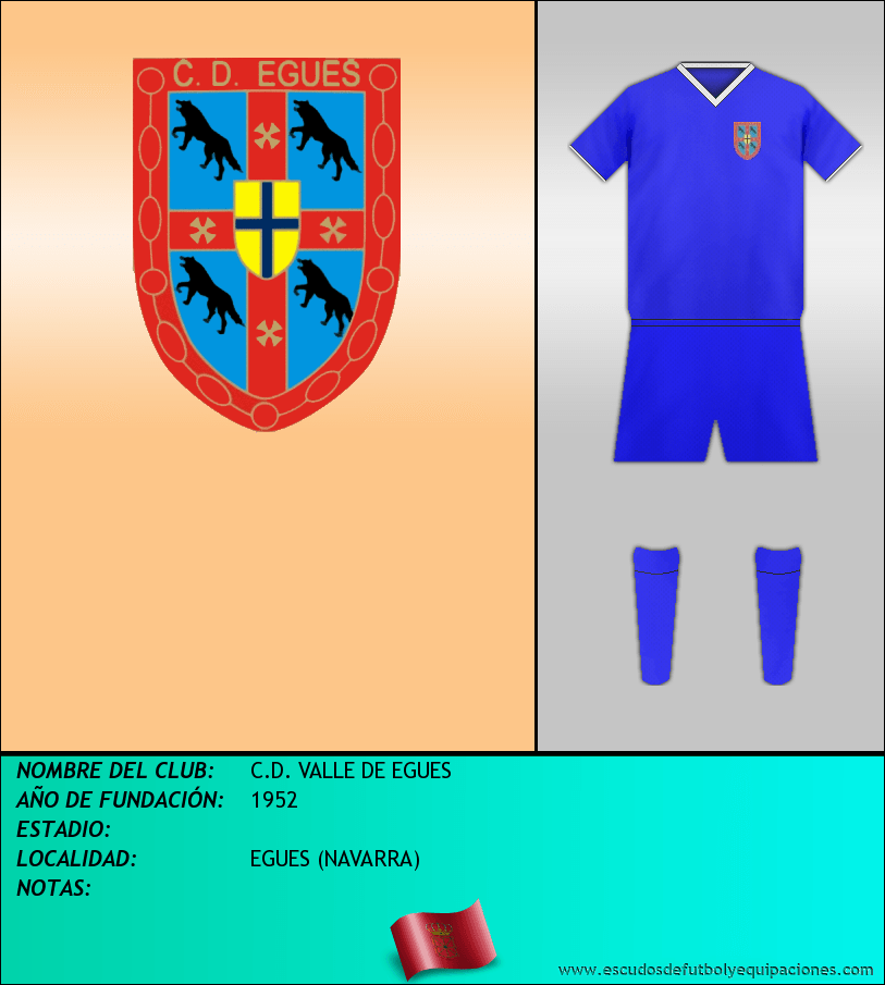Escudo de C.D. VALLE DE EGUES