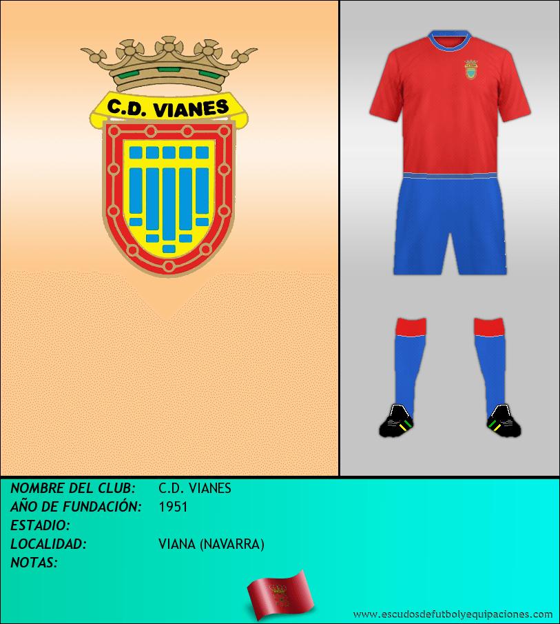 Escudo de C.D. VIANES