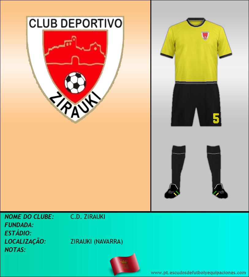 Escudo de C.D. ZIRAUKI