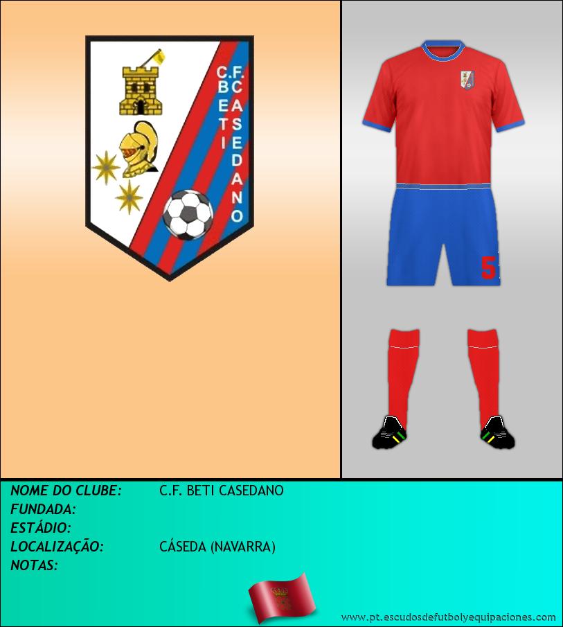 Escudo de C.F. BETI CASEDANO